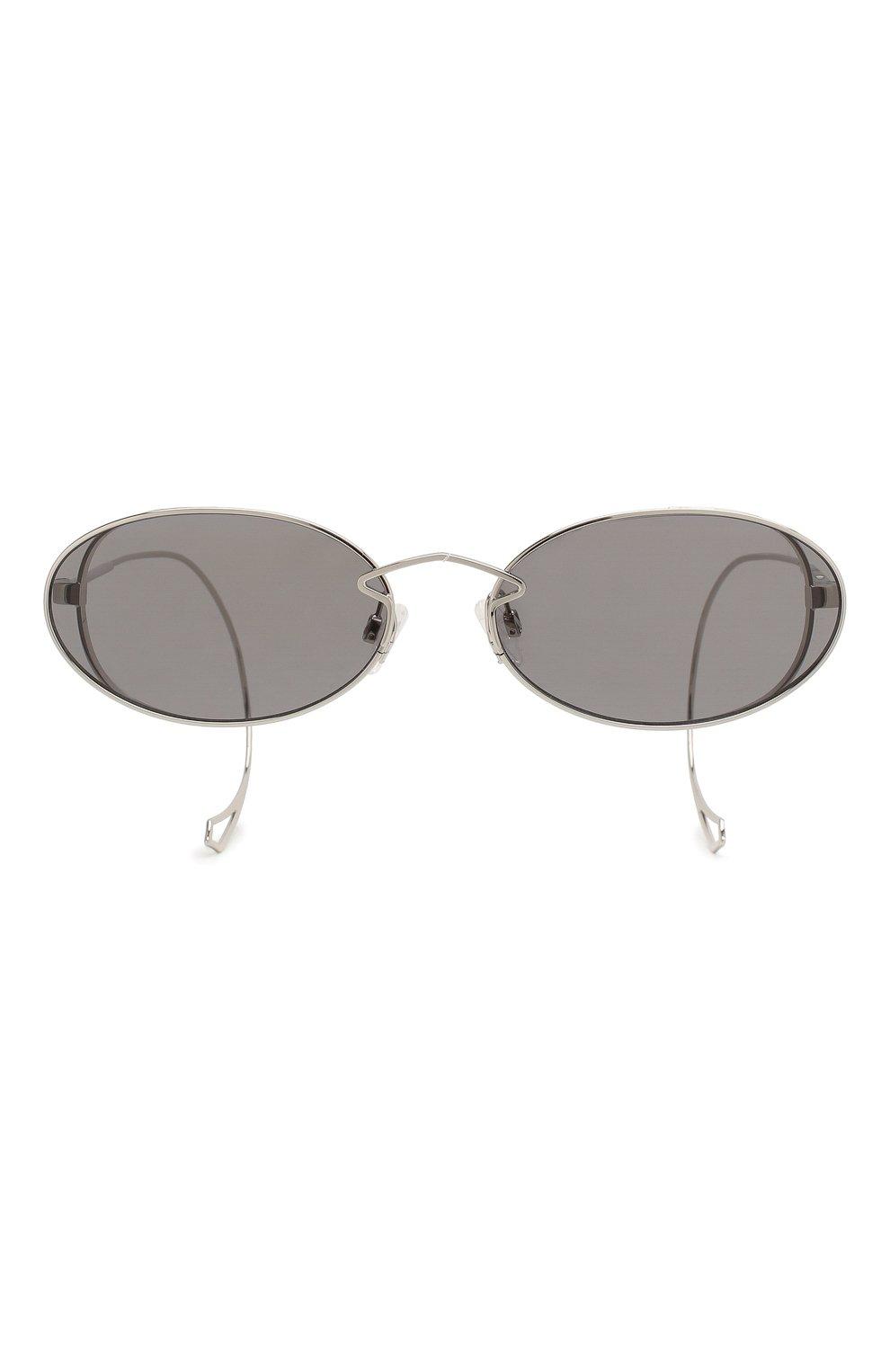 Женские солнцезащитные очки MCQ SWALLOW серого цвета, арт. MQ0272SA 001 | Фото 4
