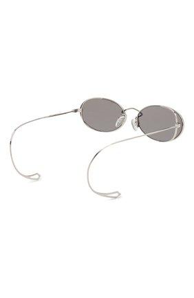 Женские солнцезащитные очки MCQ SWALLOW серого цвета, арт. MQ0272SA 001 | Фото 5