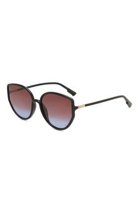 Женские солнцезащитные очки DIOR черного цвета, арт. S0STELLAIRE4 807 | Фото 1