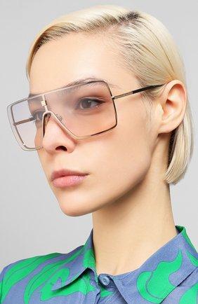 Мужские солнцезащитные очки GIVENCHY розового цвета, арт. 7167 S9E | Фото 2