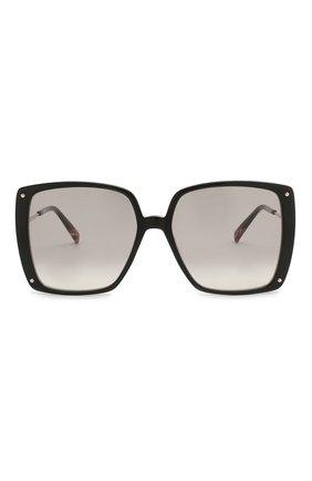 Женские солнцезащитные очки MISSONI черного цвета, арт. MIS0002 807 | Фото 3