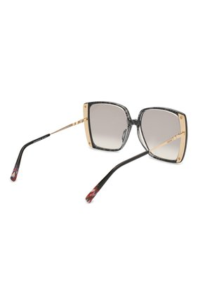 Женские солнцезащитные очки MISSONI черного цвета, арт. MIS0002 807 | Фото 4