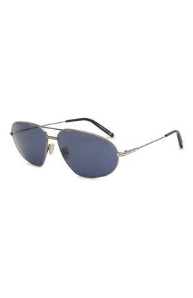 Мужские солнцезащитные очки TOM FORD синего цвета, арт. TF774 02N | Фото 1