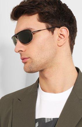 Мужские солнцезащитные очки TOM FORD синего цвета, арт. TF774 02N | Фото 2