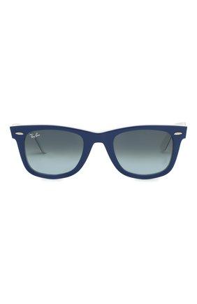 Женские солнцезащитные очки RAY-BAN синего цвета, арт. 2140-12993M | Фото 4