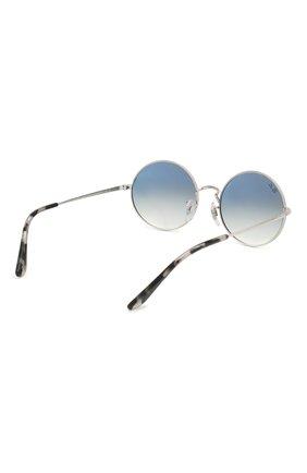 Женские солнцезащитные очки RAY-BAN голубого цвета, арт. 1970-91493F   Фото 5