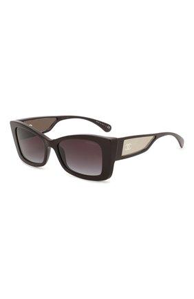 Мужские солнцезащитные очки CHANEL темно-фиолетового цвета, арт. 5430-1461S6   Фото 1