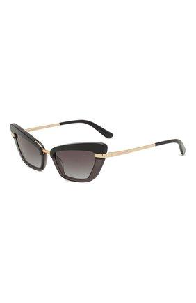 Мужские солнцезащитные очки DOLCE & GABBANA темно-фиолетового цвета, арт. 4378-32468G | Фото 1