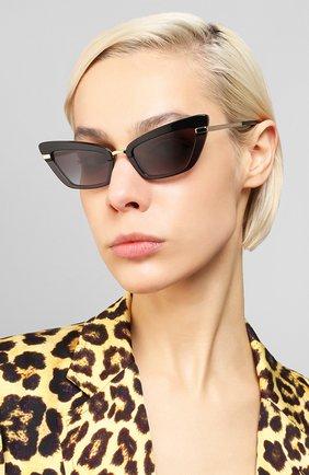Мужские солнцезащитные очки DOLCE & GABBANA темно-фиолетового цвета, арт. 4378-32468G | Фото 2
