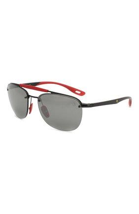 Женские солнцезащитные очки RAY-BAN черного цвета, арт. 3662M-F0026G | Фото 1