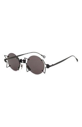 Мужские солнцезащитные очки INNERRAUM черного цвета, арт. 098 BM GREY | Фото 1