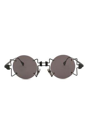 Женские солнцезащитные очки INNERRAUM черного цвета, арт. 098 BM GREY | Фото 3