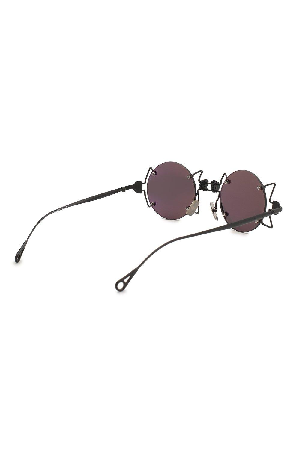 Женские солнцезащитные очки INNERRAUM черного цвета, арт. 098 BM GREY | Фото 4