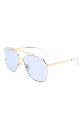 Мужские солнцезащитные очки ACNE STUDIOS голубого цвета, арт. C30007/W | Фото 1