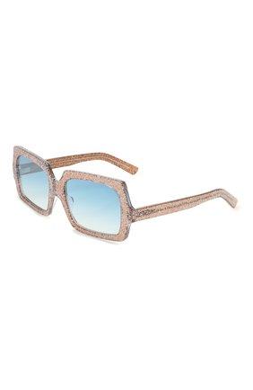 Мужские солнцезащитные очки ACNE STUDIOS голубого цвета, арт. C30005/W | Фото 1