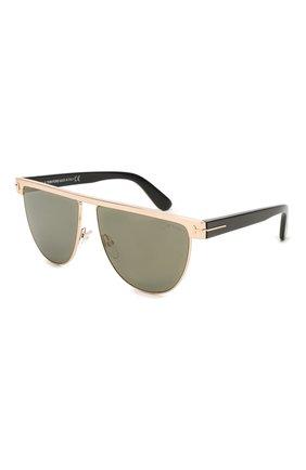 Мужские солнцезащитные очки TOM FORD черного цвета, арт. TF570 | Фото 1