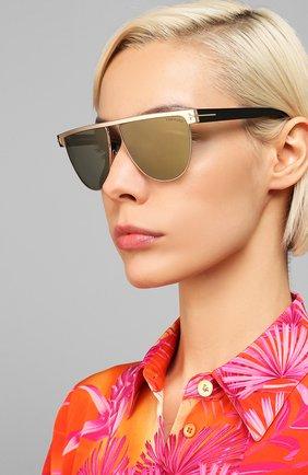 Мужские солнцезащитные очки TOM FORD черного цвета, арт. TF570 | Фото 2