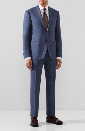 Мужские кожаные монки SANTONI бордового цвета, арт. MCC016036MC3HVVDB54 | Фото 2