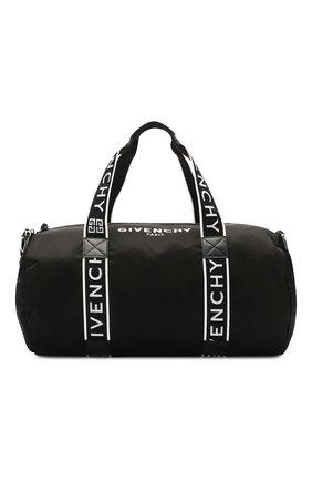 Мужская текстильная спортивная сумка GIVENCHY черного цвета, арт. BK506PK0B5 | Фото 1