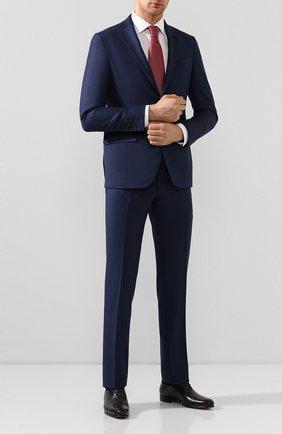 Мужской шерстяной костюм LUCIANO BARBERA темно-синего цвета, арт. 5L2014/25139 | Фото 1