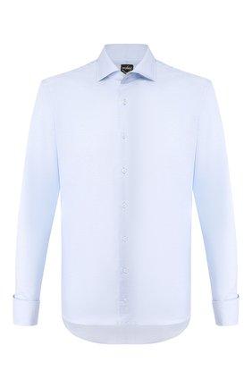 Мужская сорочка из смеси хлопка и льна VAN LAACK голубого цвета, арт. MIVARA-DTF/150054 | Фото 1