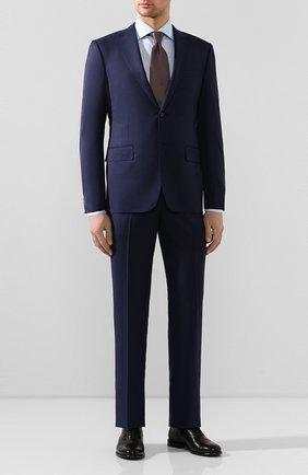 Мужская сорочка из смеси хлопка и льна VAN LAACK голубого цвета, арт. MIVARA-DTF/150054 | Фото 2