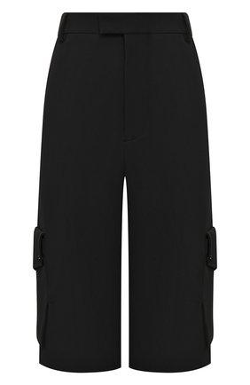 Женские шорты BOTTEGA VENETA черного цвета, арт. 621402/VA5S0 | Фото 1