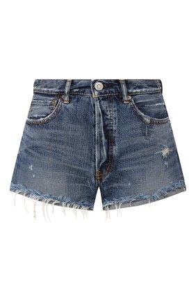 Женские джинсовые шорты MOUSSY синего цвета, арт. 025DSC11-2320 | Фото 1