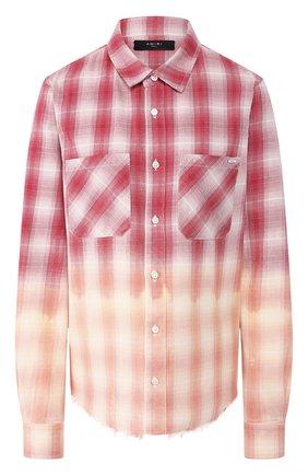 Женская хлопковая рубашка AMIRI разноцветного цвета, арт. Y0W06449PD | Фото 1