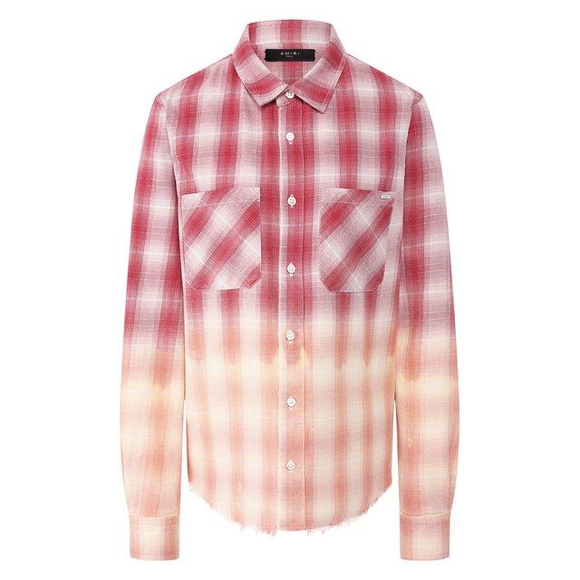 Хлопковая рубашка Amiri