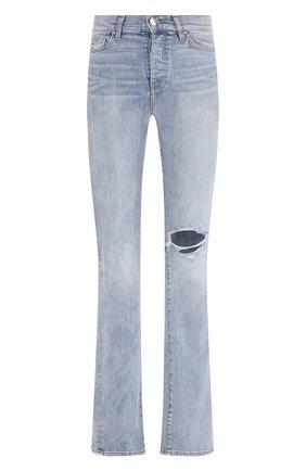 Женские джинсы AMIRI голубого цвета, арт. Y0W01410SD | Фото 1