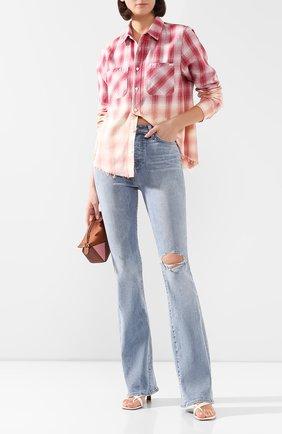 Женские джинсы AMIRI голубого цвета, арт. Y0W01410SD | Фото 2