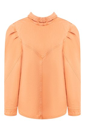 Женская джинсовая рубашка ISABEL MARANT оранжевого цвета, арт. HT1746-20E010I/ESPERA | Фото 1