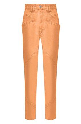 Женские джинсы ISABEL MARANT оранжевого цвета, арт. PA1648-20E010I/EL0ISA | Фото 1