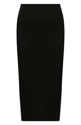Женская юбка DOLCE & GABBANA черного цвета, арт. F4BU0T/FURJL | Фото 1