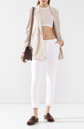 Женские джинсы AG белого цвета, арт. SBW1613/WHT | Фото 2