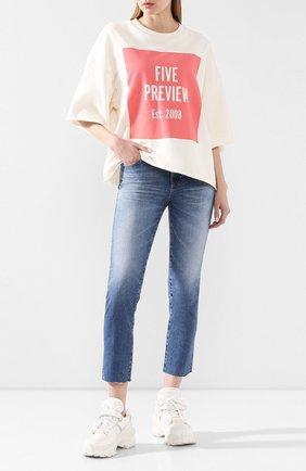 Женские джинсы AG голубого цвета, арт. LED1753RH/20YDUP | Фото 2