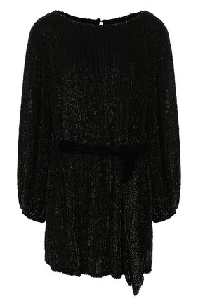 Женское платье из вискозы RETROFÊTE черного цвета, арт. HL18-2040   Фото 1