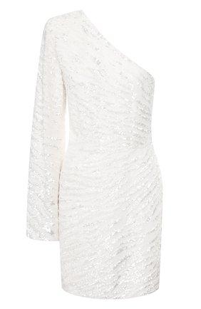 Женское платье из вискозы RETROFÊTE белого цвета, арт. HL20-2500   Фото 1