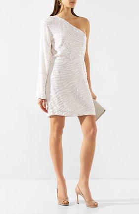 Женское платье из вискозы RETROFÊTE белого цвета, арт. HL20-2500   Фото 2