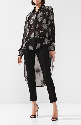 Женская блузка из вискозы RETROFÊTE черного цвета, арт. HL20-2538   Фото 2
