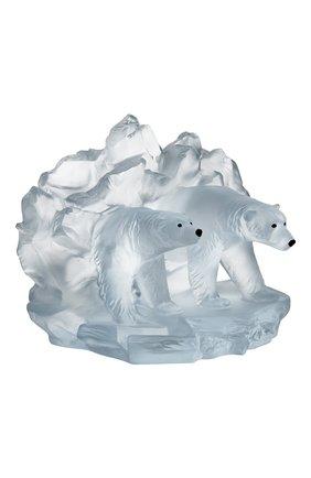 Мужская скульптура полярные медведи arktos DAUM прозрачного цвета, арт. 05681 | Фото 2