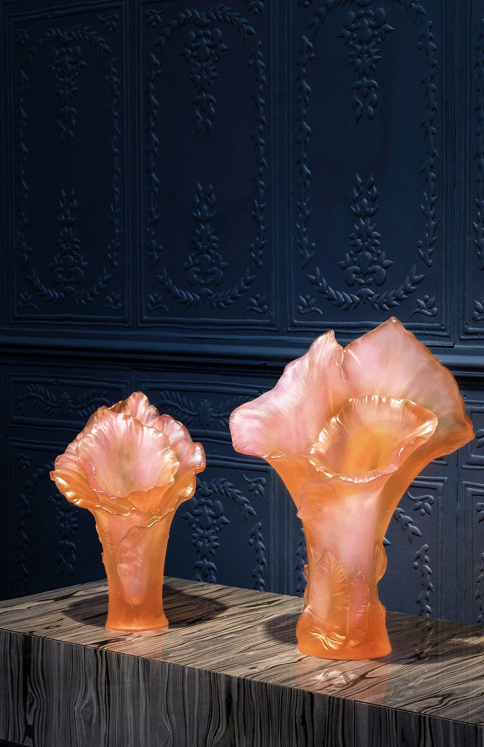 Мужская ваза arum magnum DAUM розового цвета, арт. 05667-1 | Фото 2