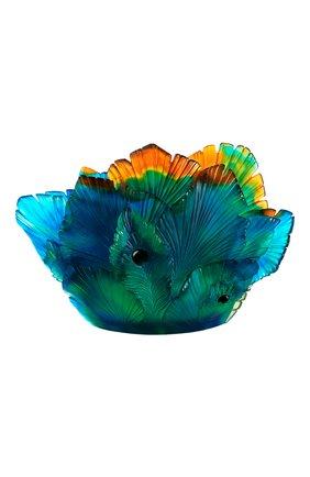 Мужского ваза fleur de paon medium DAUM разноцветного цвета, арт. 05693 | Фото 1