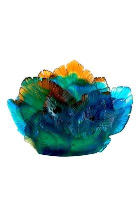 Мужского ваза fleur de paon medium DAUM разноцветного цвета, арт. 05693 | Фото 2