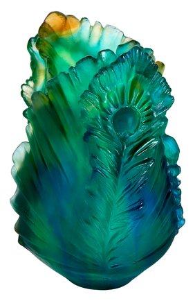 Мужского ваза fleur de paon small DAUM разноцветного цвета, арт. 05694 | Фото 1