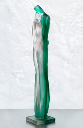 Скульптура tendresse DAUM зеленого цвета, арт. 05646 | Фото 2