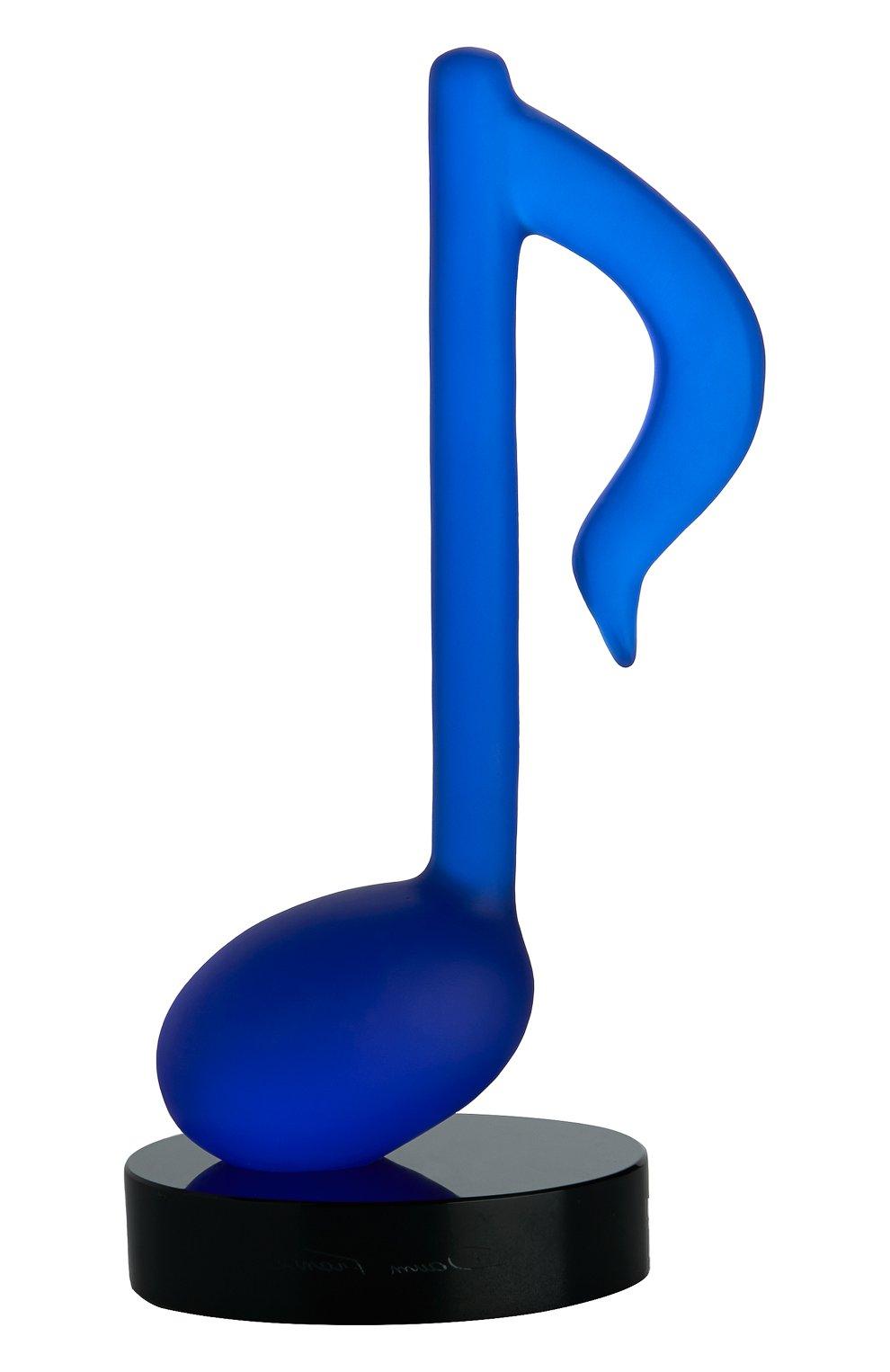 Мужского скульптура timeless DAUM синего цвета, арт. 05697-1   Фото 1