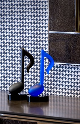 Мужского скульптура timeless DAUM синего цвета, арт. 05697-1   Фото 3