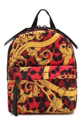 Женский рюкзак VERSACE JEANS COUTURE разноцветного цвета, арт. E1VVBBP2-LINEA P DIS. 2/71416 | Фото 1